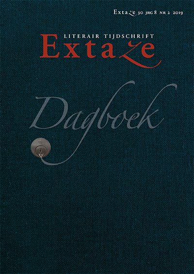 Cover Extaze nr. 30: Dagboek